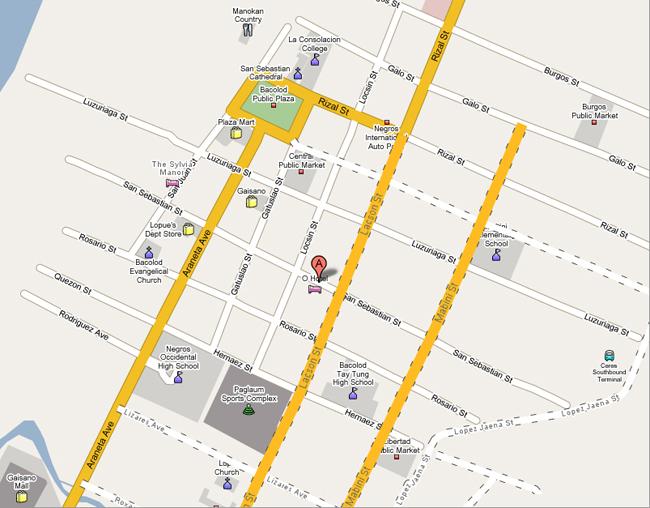 O Hotel Sitemap